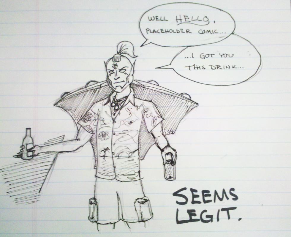 <Seems Legit>/Rum and Rohypnol